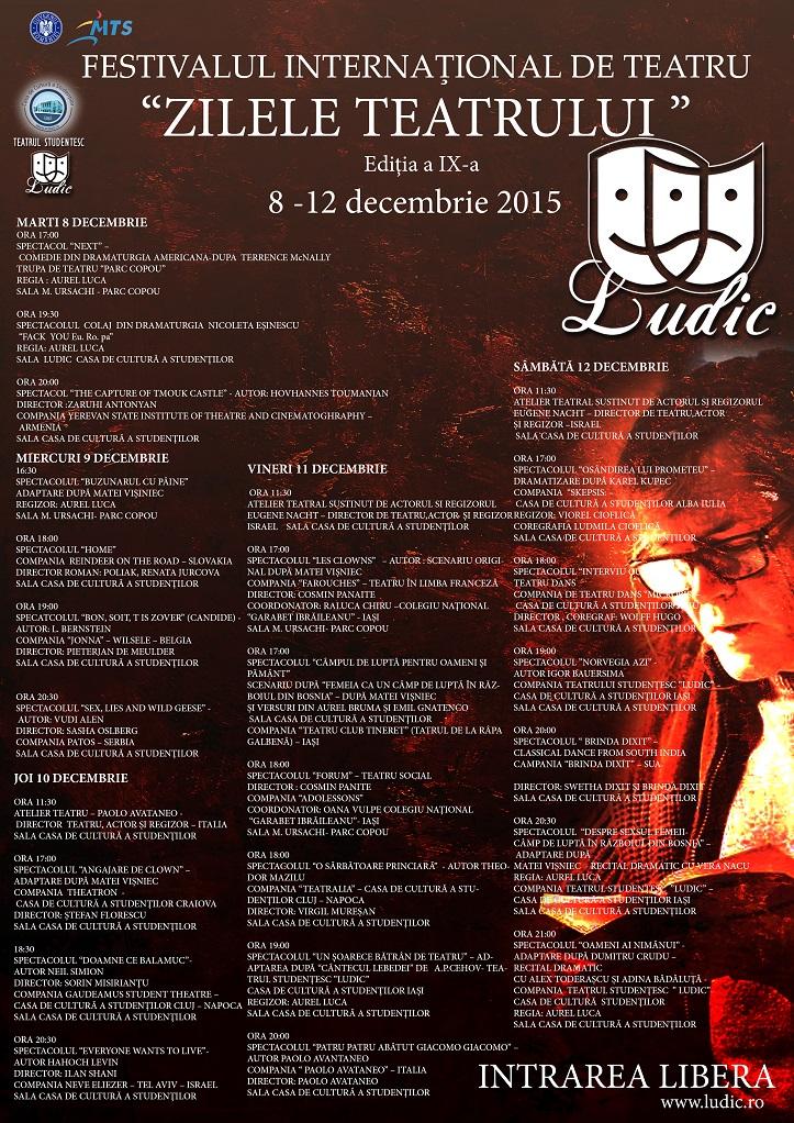 Zilele teatrului Ludic